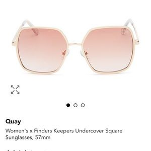 Quay Australia Accessories - QUAY x FINDERS KEEPERS Undercover Sunglasses